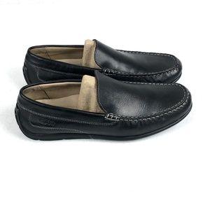 Clarks Glenrise Step Men/'s Walnut Leather Slip On Dress Shoes 26107764